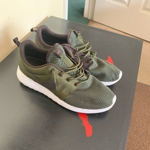 Olive Green Nike Roshe Runs